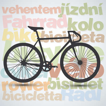 cycle race: bicycle background
