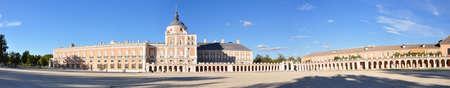 grand palace: Royal Palace of Aranjuez, Madrid, Spain Editorial