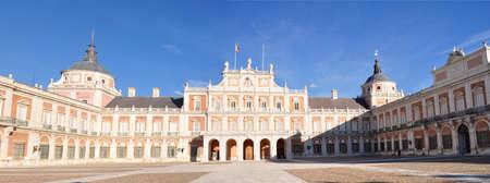 palacio: Royal Palace of Aranjuez, Madrid, Spain Editorial