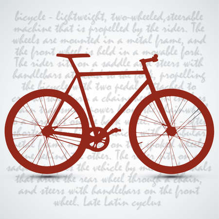 spoke: Vintage Retro Bicycle Background