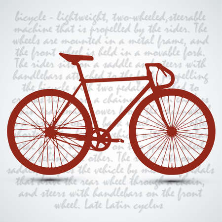 road bike: Vintage Retro Bicycle Background