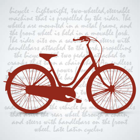 absorber: Vintage Retro Bicycle Background