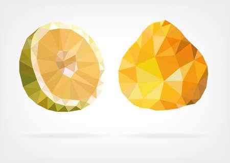 Low Poly Ugli fruit