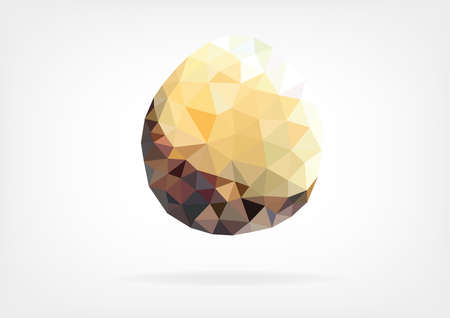 salak: Low Poly Salak fruit Illustration
