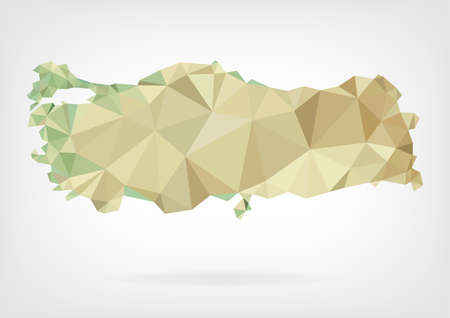 pavo: Mapa Low Poli de Turqu�a
