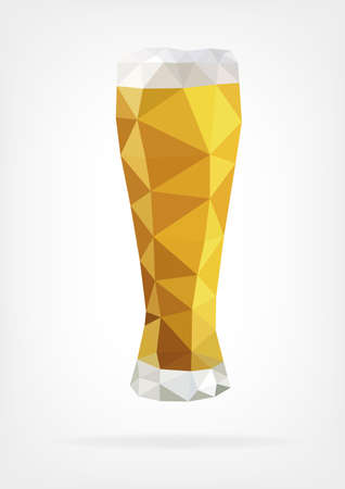 cheers: Low Poly Glass of Beer