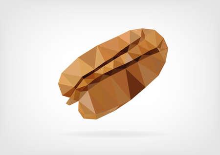 pecan: Low Poly Pecan nut