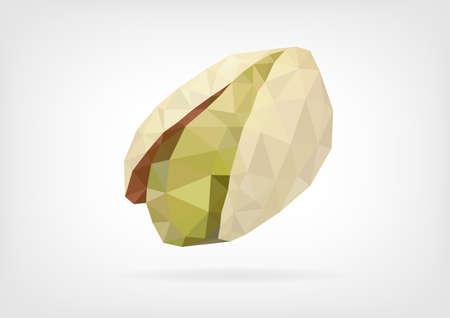 pistachio: Low Poly Pistachio