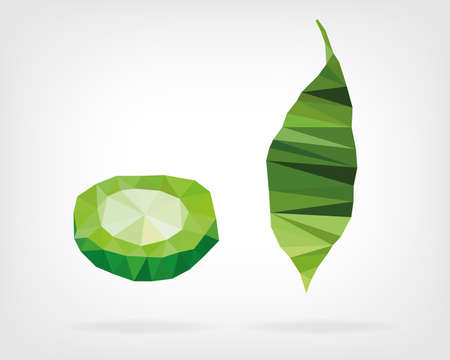gourd: Low Poly Bitter Melon