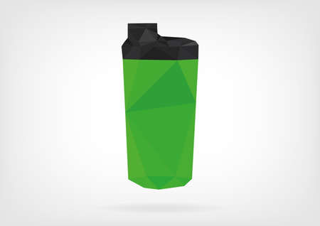 low poly: Low Poly Protein Shaker