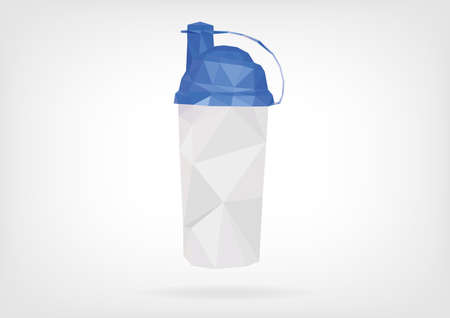 supplements: Low Poly Protein Shaker