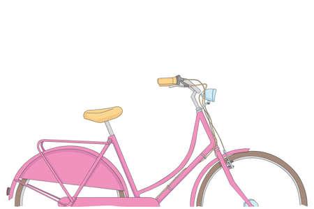 illustration cool: cool vintage bicycle illustration