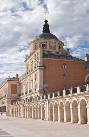royal park: Royal Palace of Aranjuez , Madrid, Spain Editorial