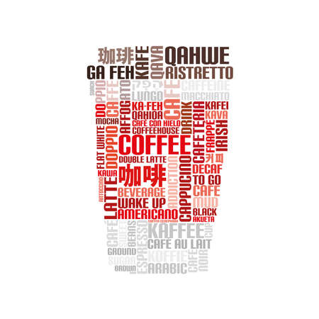 coffee to go: Word Cloud Coffee to go