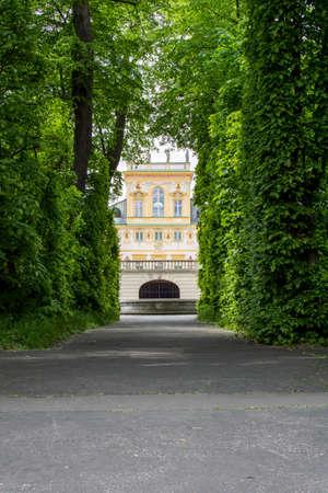 wilanow: Royal Palace Wilanow in Warsaw, Poland