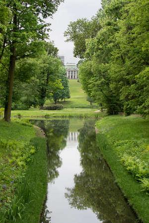 neoclassic: Lazienki Gardens with Belweder