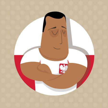 streichholz: Polnische Fußballspieler