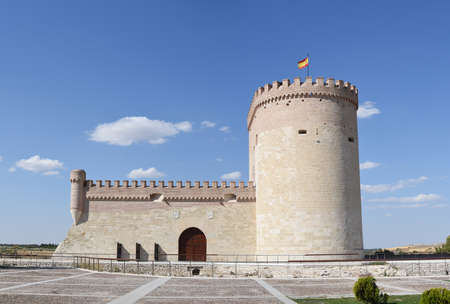 Castle of Arevalo in Castilla-Leon region in Spain