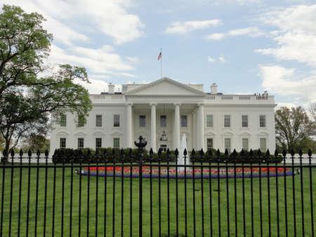 ホワイトハウスの北側