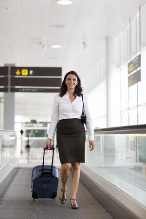 Latin businesswoman travelling  photo