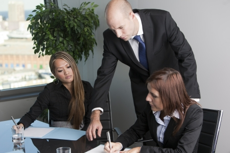 Problems with bank loan Stock Photo - 12308351