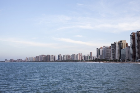 Cityline of Fortaleza in Northeastern Brazil, host town of the World Cup 2014