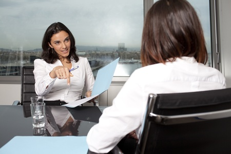 Consultation with tax adviser Stock Photo - 12525800