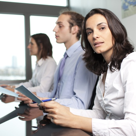 Business interview Stock Photo - 16449112