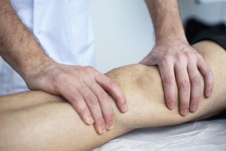 massage therapist working photo