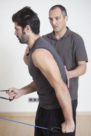 physical therapist: trx training