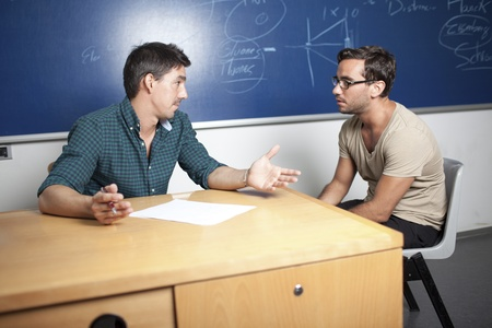 Not passing an oral exam Stock Photo