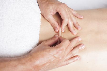 Female myofascial therapy    photo