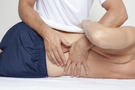 Osteopathie Standard-Bild - 23405588
