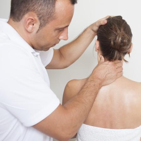 chiropractic care Standard-Bild