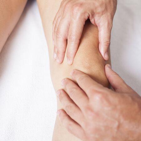 knee massage photo