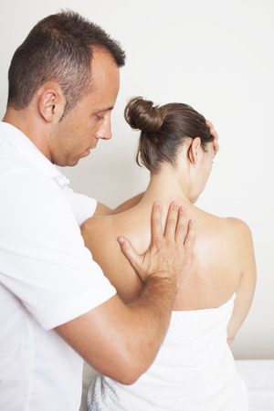 myofascial: neck manipulation