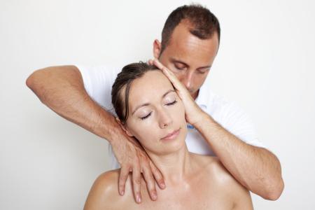 neck manipulation photo