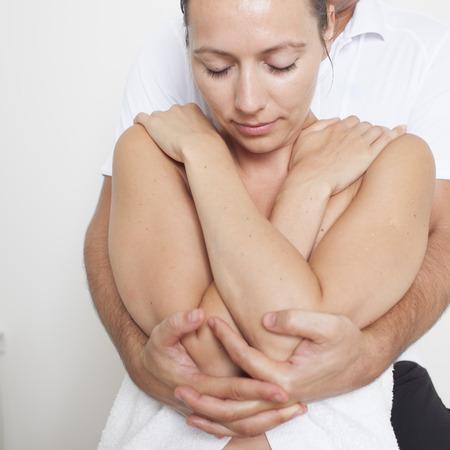 Osteopathie Standard-Bild - 23365761