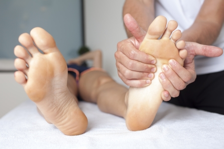 Foot Massage Stock Photo - 23365762