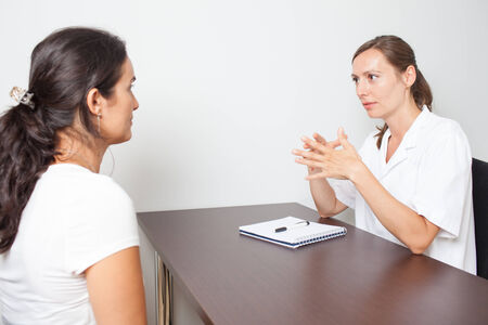 woman vagina: Seeing a gynecologist