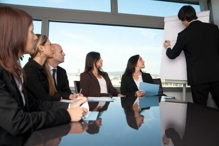 Formation en salle du conseil