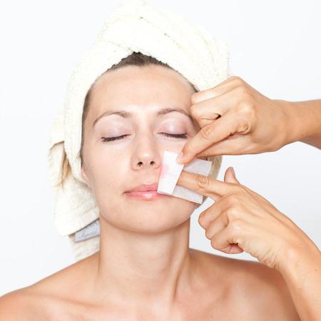 remove: Remove facial hair