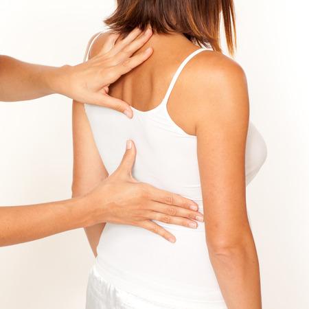 fisioterapia: osteopatía Foto de archivo