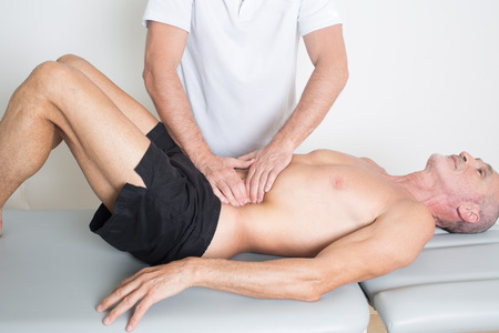 spinal adjustment: chiropractic manipulation
