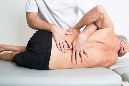 osteopathy: Senior physiotherapy