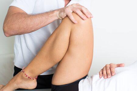 myofascial: Knee massage
