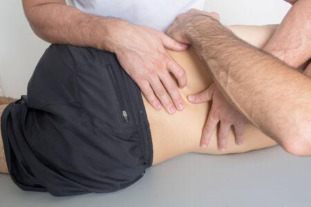 adjustment: Chiropractic care