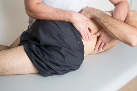 Les soins chiropratiques Banque d'images
