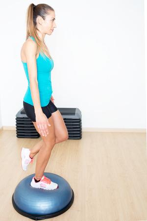med: balance trainer Stock Photo