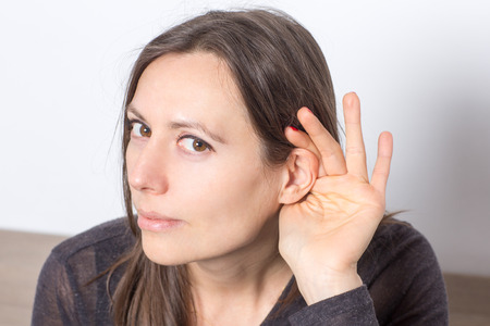 inteligible: S�mbolo de imagen de escuchar